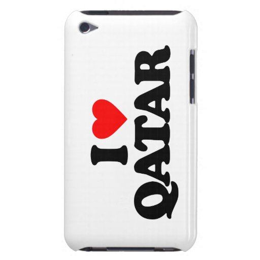 I LOVE QATAR BARELY THERE iPod CASES