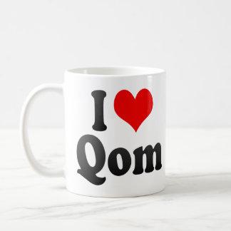 I Love Qom, Iran Coffee Mug