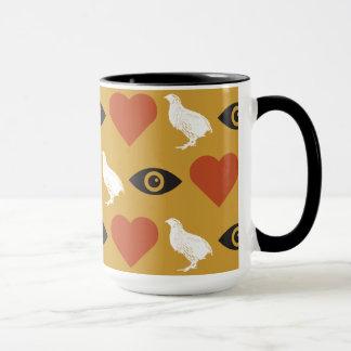 I Love Quails 15oz Mug