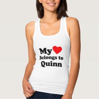 I love Quinn Tank Top