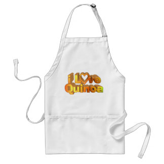 I Love Quinoa on many products Standard Apron