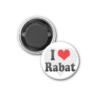 I Love Rabat, Morocco Magnet