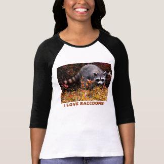 I LOVE RACCOONS T-Shirt