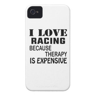 I Love Racing Because Therapy Is Expensive Case-Mate iPhone 4 Case