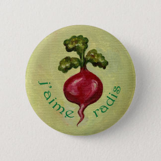 I Love Radishes button