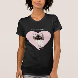 I Love Ragdolls T-Shirt