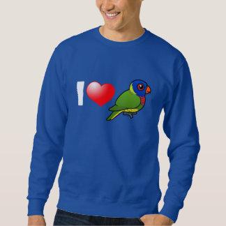 I Love Rainbow Lorikeets Sweatshirt