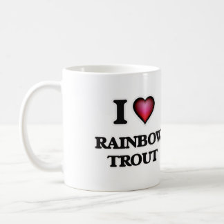I Love Rainbow Trout Coffee Mug