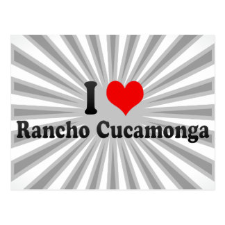 I Love Rancho Cucamonga, United States Postcard