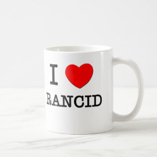 I Love Rancid Coffee Mug
