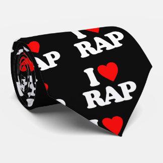 I LOVE RAP TIE