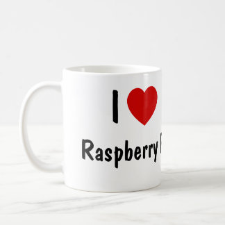 I Love Raspberry Pi Coffee Mug