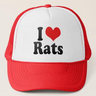 I Love Rats Trucker Hat