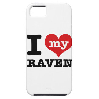 I Love Raven iPhone 5 Case