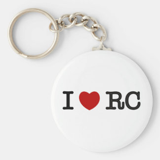 I Love RC Keychain