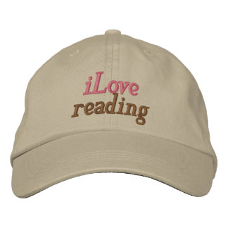 I Love Reading Hat