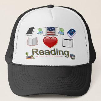 I love reading trucker hat