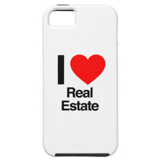 i love real estate iPhone 5 cases