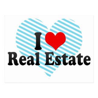 I Love Real Estate Postcard