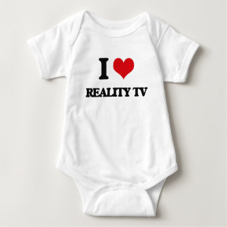 I Love Reality Tv Baby Bodysuit