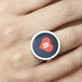 I Love Receiving Gifts Cool Symbol Rings