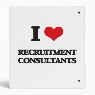 I love Recruitment Consultants Binder