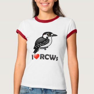 I Love Red-cockaded Woodpeckers T-Shirt