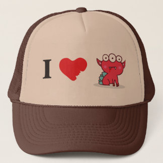 I love red eyesore hat