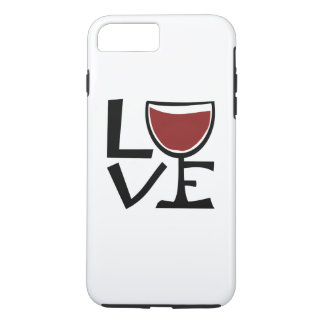 I love red wine drinker iPhone 7 plus case