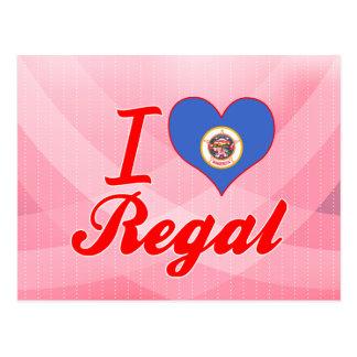 I Love Regal, Minnesota Post Card