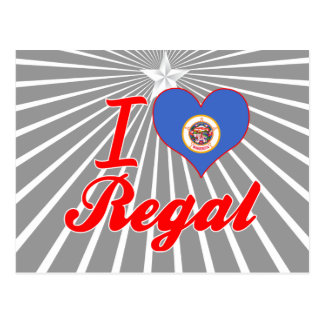 I Love Regal, Minnesota Post Cards