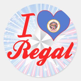 I Love Regal, Minnesota Stickers
