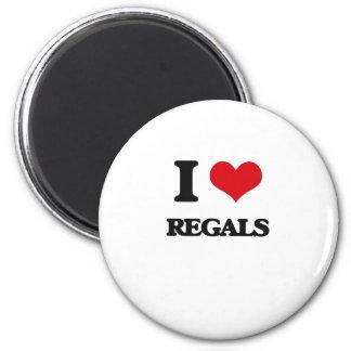 I Love Regals Magnets