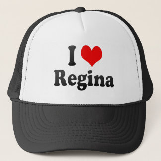 I Love Regina, Canada Trucker Hat