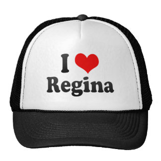 I Love Regina, Canada Trucker Hat