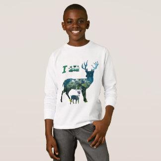 I love reindeer t shirt boys