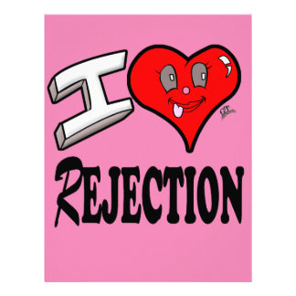 I love Rejection Letterhead