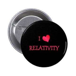I Love Relativity 2 Inch Round Button
