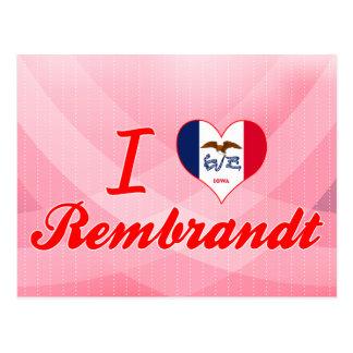 I Love Rembrandt, Iowa Post Card