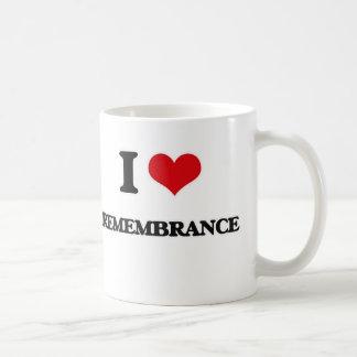 I Love Remembrance Coffee Mug