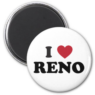 I Love Reno Nevada Magnet