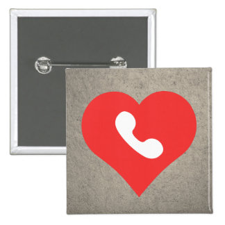 I Love Repairing Phones Modern 2 Inch Square Button