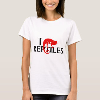 I Love Reptiles T-Shirt