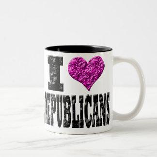 I Love Republicans Mug