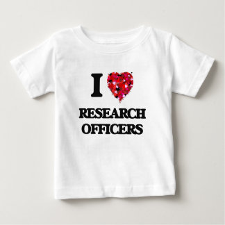 I love Research Officers T-shirts