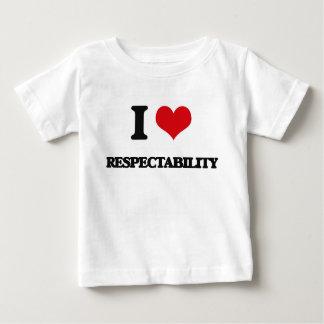 I Love Respectability Shirts