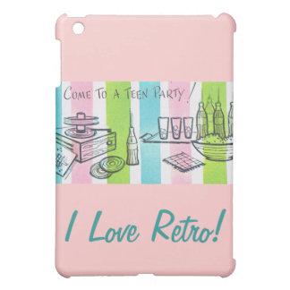 I Love Retro Teen Invite iPad Mini Cover