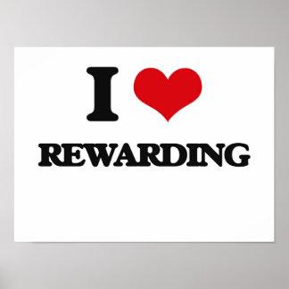 I Love Rewarding Poster