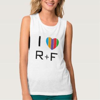 I LOVE RF TANK TOP