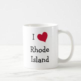 I Love Rhode Island Coffee Mug